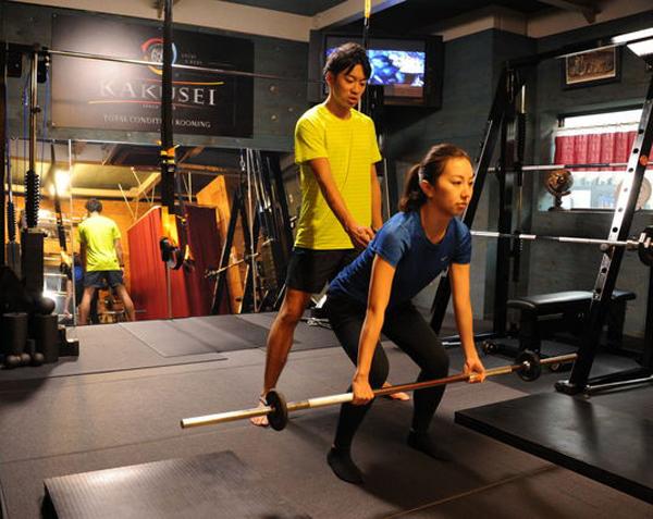 痛改善 足腰の強化